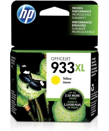 Printers & Accessories HP Ink Cartridge 933 XL Yellow [tag]