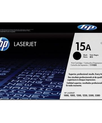 Printers & Accessories HP 15A (C7115A) Black Original LaserJet Toner Cartridge [tag]