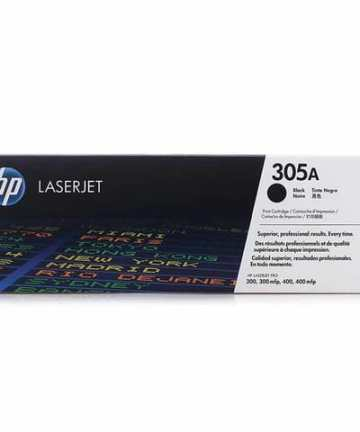 Printers & Accessories HP 305A (CE410A) Black Original LaserJet Toner Cartridge [tag]