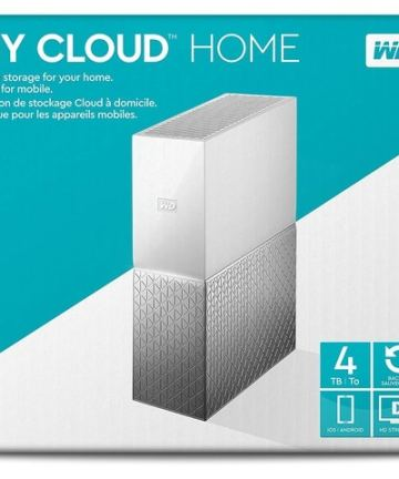 Cloud storage WD 4TB My Cloud Home Cloud Storage [tag]