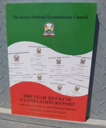 2019 KNEC Reports Humanities Reports / Questions / Marking Schemes 2019 KCSE