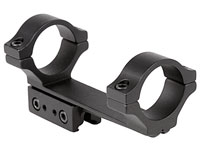"BKL 1-Pc Mount, 30mm Rings, 3/8"" or 11mm Dovetail, 4"" Long, Offset, Matte Black"