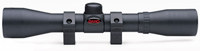 "Gamo 4x32 Scope, 1"" Tube, 11mm Dovetail Rings"