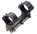 Leapers Accushot 1-Pc Mount w/30mm Rings, High, 11mm Dovetail