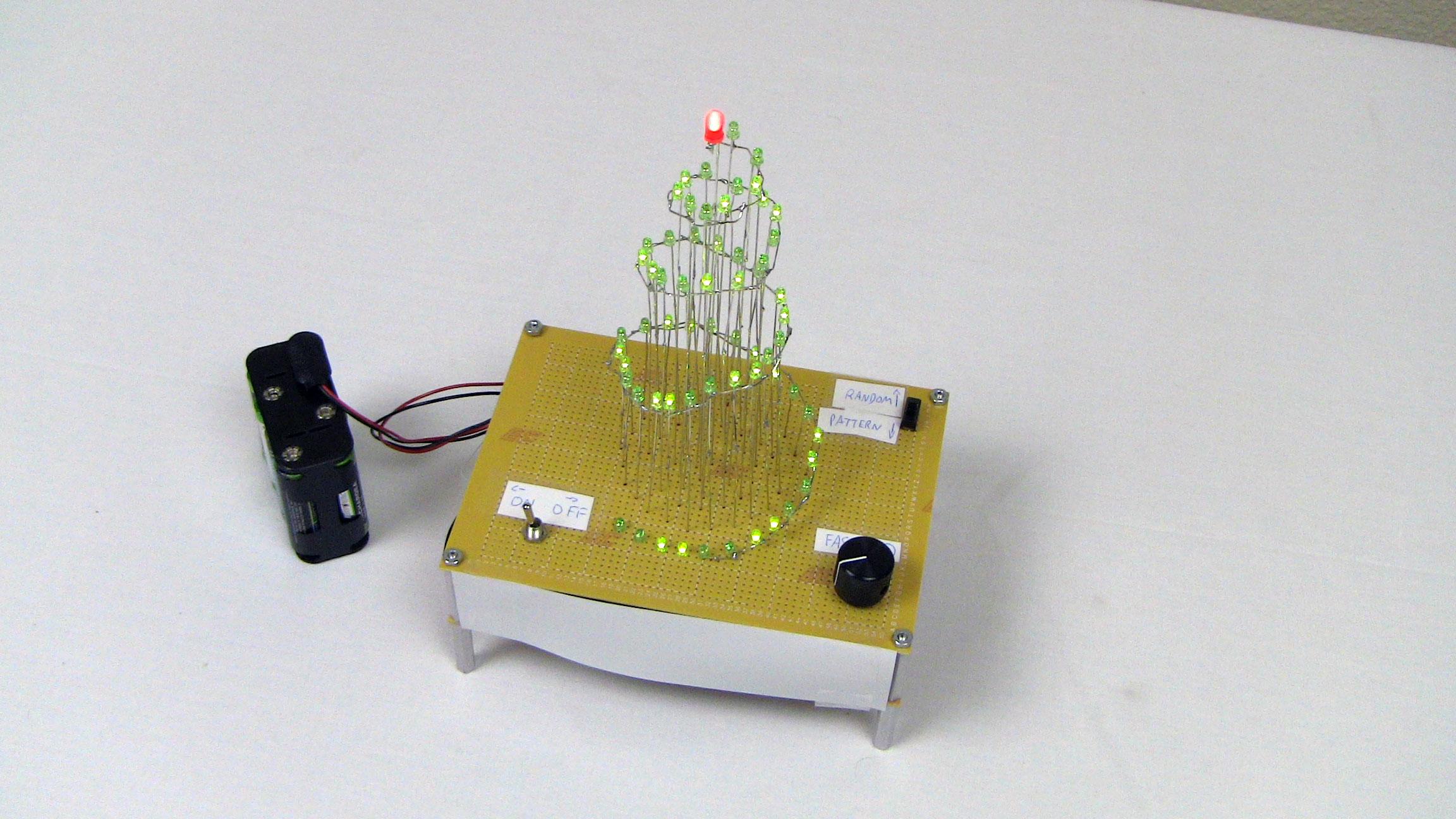 Christmas Tree Light Circuit Diagram Electronic Cxa1034pm Audio Amplifier