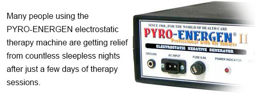 PYRO-ENERGEN Electrostatic Therapy Machine for Insomnia