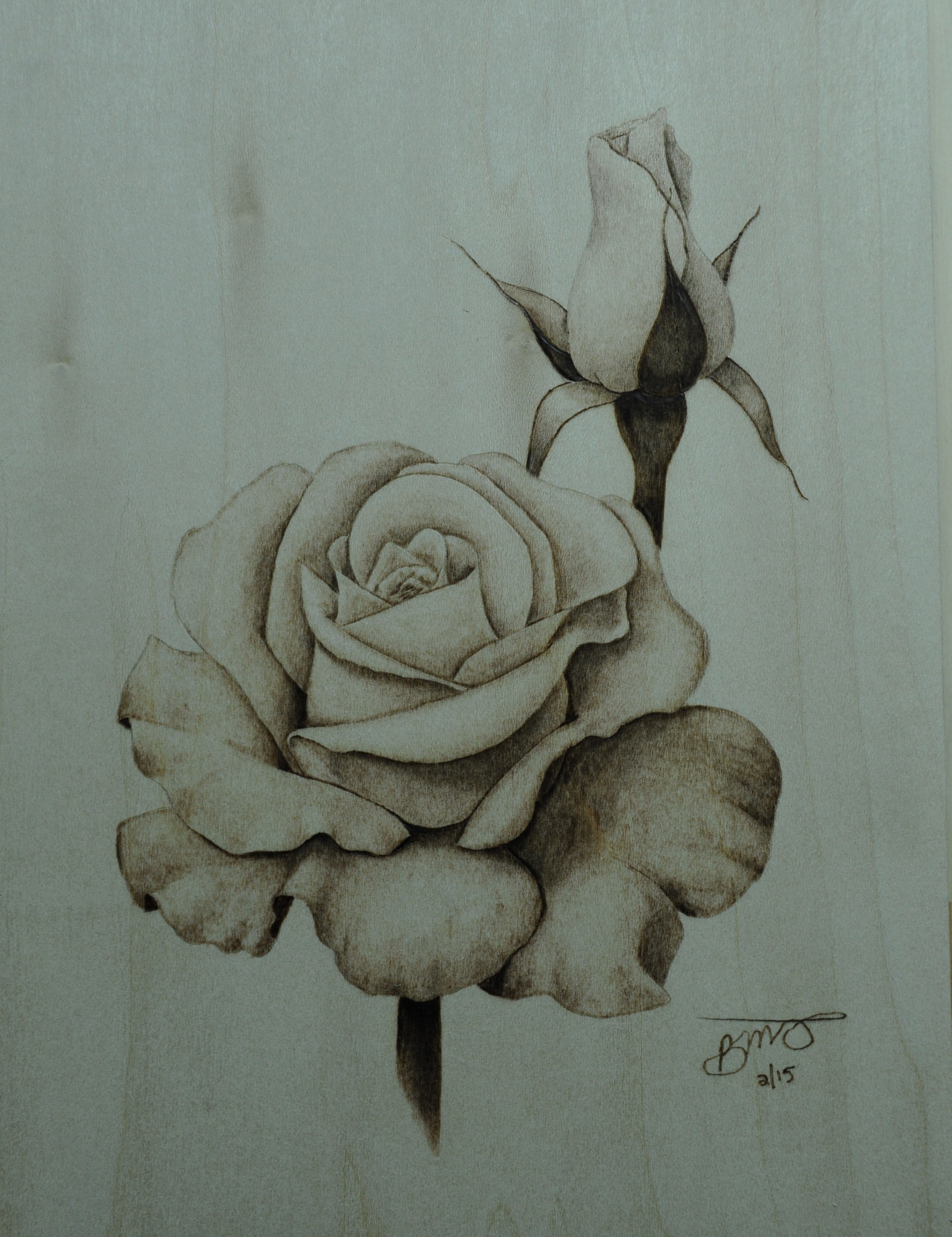 In this blog im going to explain how i created the rose pyrography artwork this is another tutorial that relies heavily on the shading pen tip