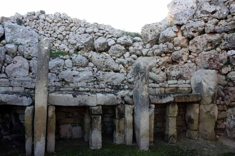 6000 Jahre alt: Der Ġgantija-Tempel auf Malta