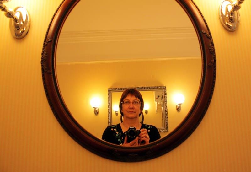 Im Schlosshotel Barberstown Castle in Irland.