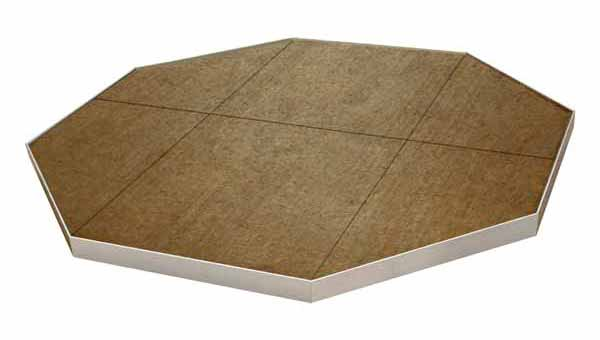 Deckprotect Octagon Fire Pit Insulation Pyroprotecto Made In Usa
