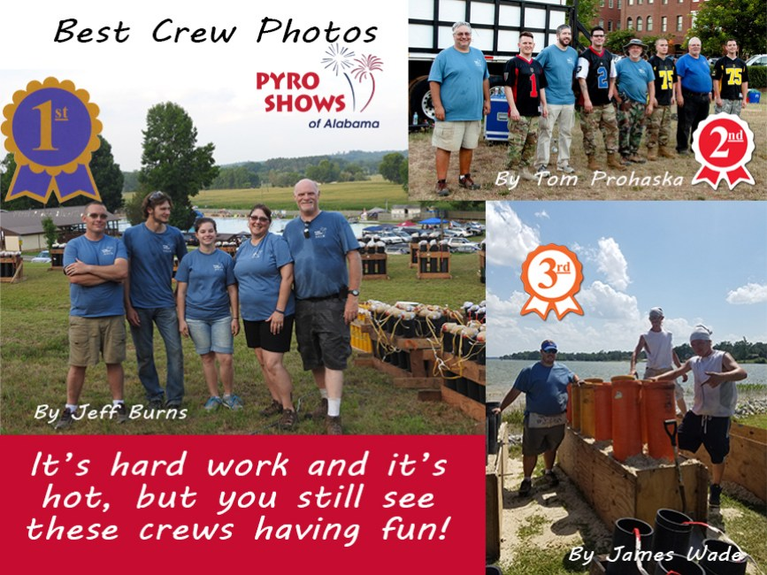 AL Crew Photo Contest Winners ALABAMA - Best Crew Photo