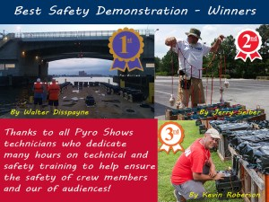 Best Safety Demonstration Winners