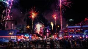 Nashville, Bash On Broadway, Fireworks, Pyro Shows