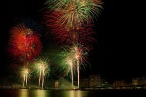 Fireworks Photo by Garrett Hill