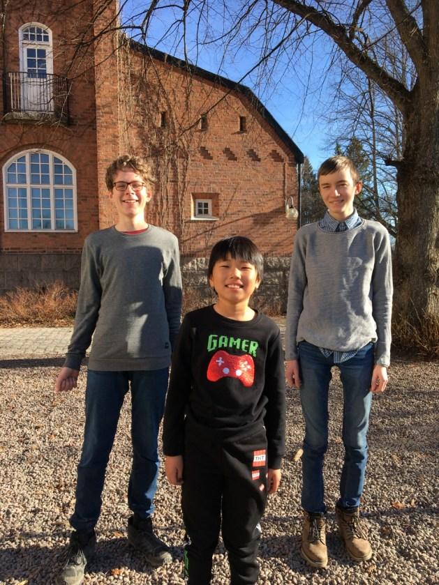 Uppsala musikklasser vinnarna av Pythagoras Quest i Uppsala 2021!