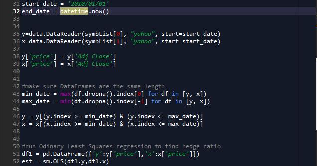 Python Backtesting Mean Reversion - Part 2