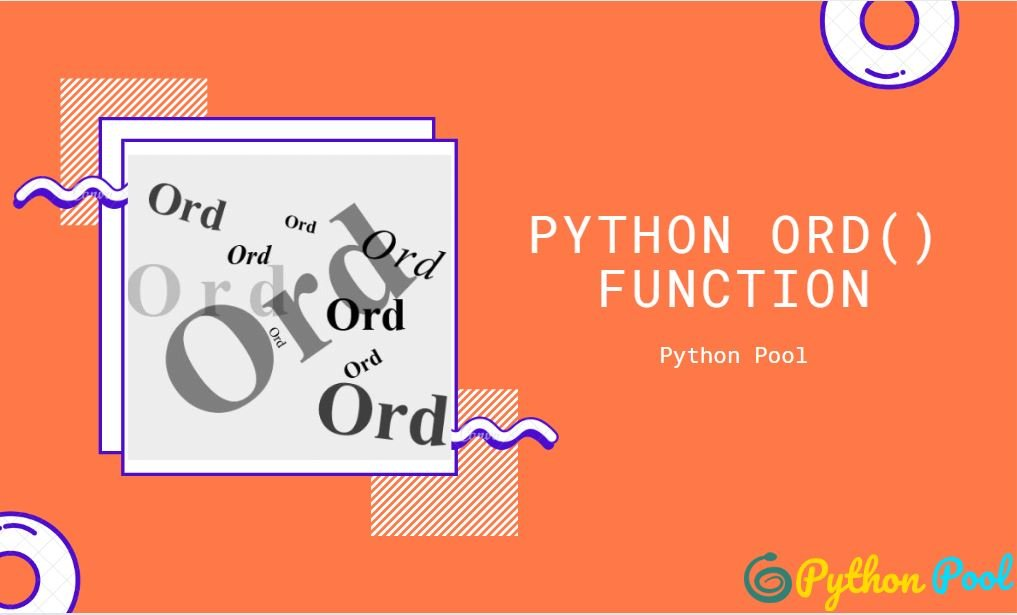 What is Python ord Function | ord() Examples