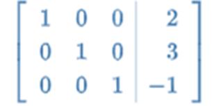 python gaussian elimination code