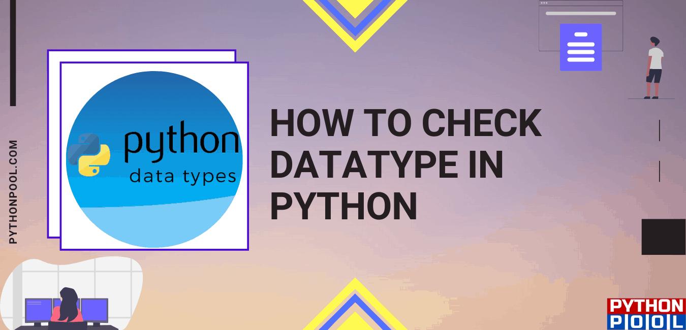 check data type python