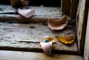 Broken Doll Face by Jonathan Khoo