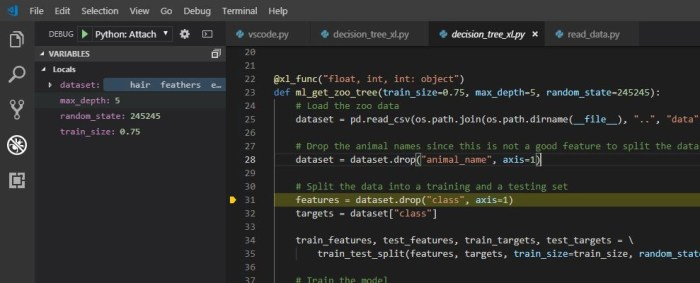 Debugging Your Python Excel Add-In | PyXLL