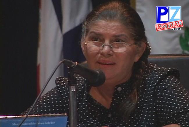 Regidora María Ester Madriz renuncia a su curul