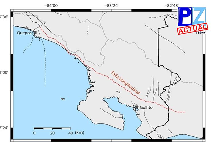 Falla sísmica más grande del país está en la Zona Sur