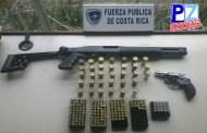Fuerza Pública decomisó un arma de fuego cada cinco horas en el país.