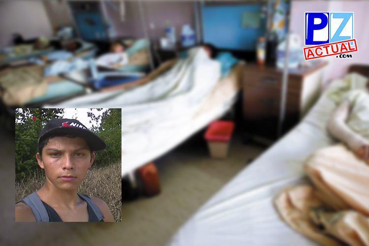 Joven que recibió descarga eléctrica se encuentra en Unidad de Cuidados Intensivos.