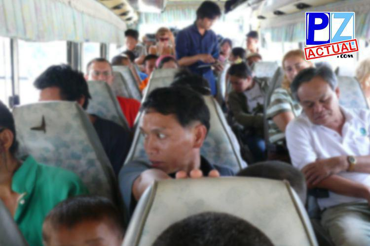 """Las """"maravillas"""" de viajar en autobús…una historia de la vida real para reír."""
