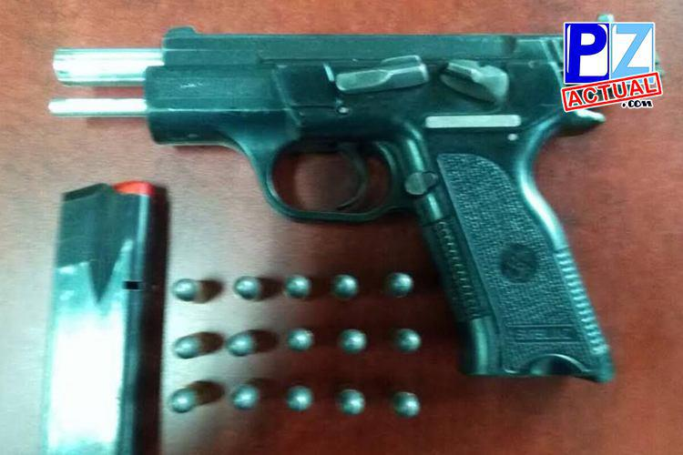 Fuerza Pública decomisó armas de fuego en el centro de Golfito.