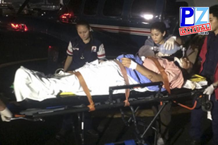 Vigilancia Aérea acudió al rescate de hombre accidentado en la Zona Sur este fin de semana.
