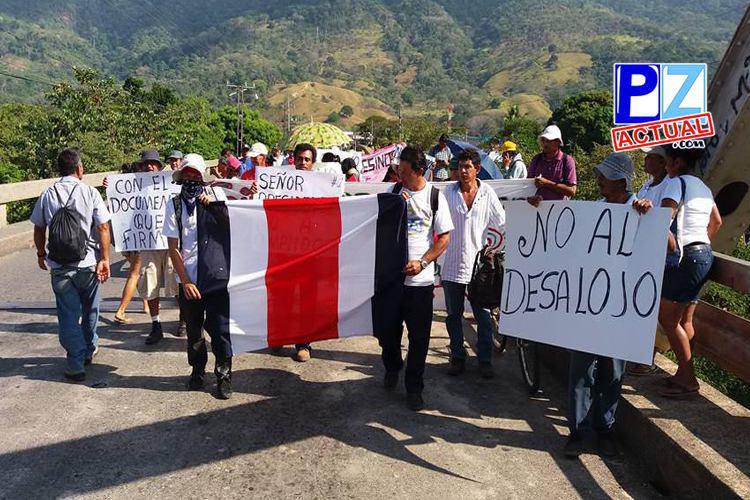 No existe fecha prevista para el desalojo de finca Chánguena en Palmar.