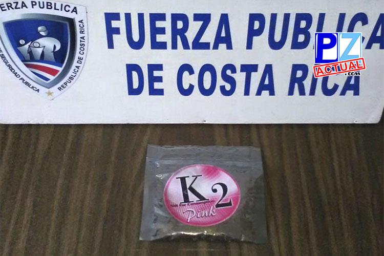 Fuerza Pública alerta sobre nueva droga que circula en el país.