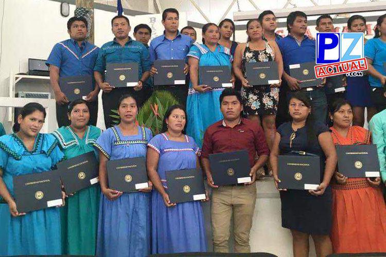 UNA graduó a 41 nuevos profesionales indígenas de la Zona Sur de nuestro país.
