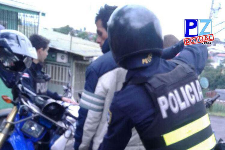 Fuerza Pública detuvo en las últimas horas a 16 prófugos de la justicia uno de ellos en Pérez Zeledón.