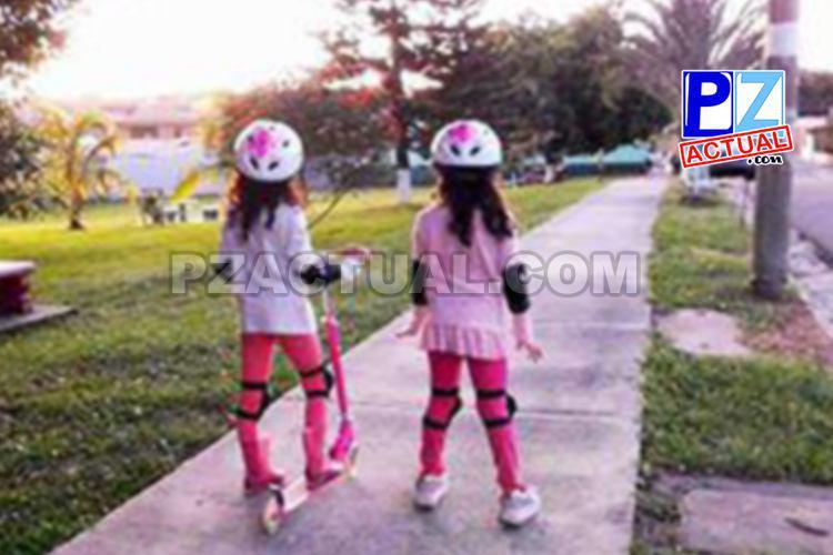 Niños deben utilizar dispositivos de seguridad  y ser supervisados al salir a jugar.