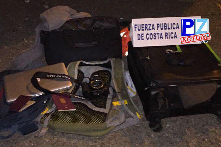 Seguridad Pública desarticuló banda foránea de tachadores en playa Jacó.