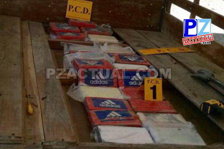 Policía de Fronteras interceptó en La Gamba de Golfito camión con doble piso cargado de cocaína.