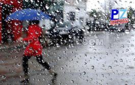 Se prevé actividad lluviosa fuerte para este inicio de semana.