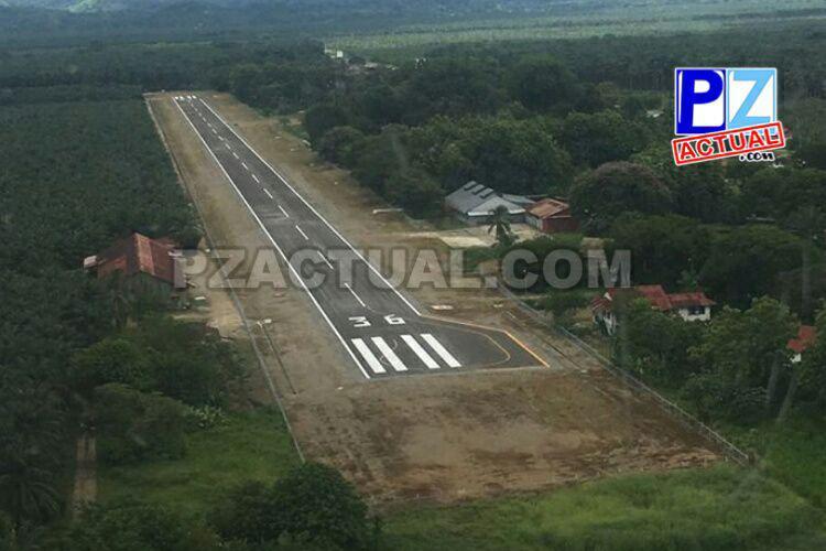 Presidente Solís hizo entrega de las obras del Aeródromo de Coto 47.