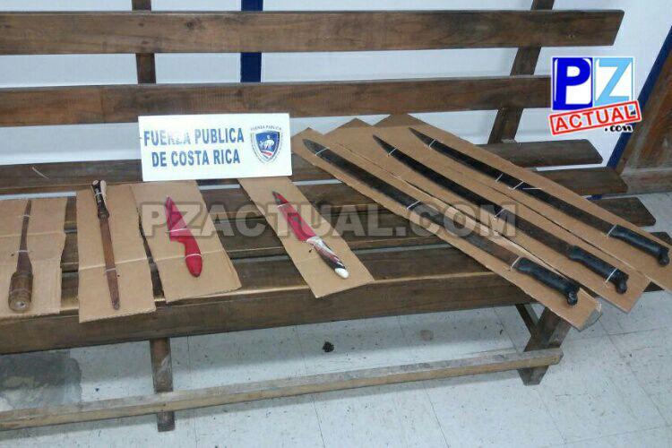 Oficiales de Quepos aprehenden a hombre por supuesta violencia doméstica.