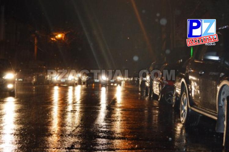 Informe Meteorológico N°18 Lluvias aisladas esta noche en el país.