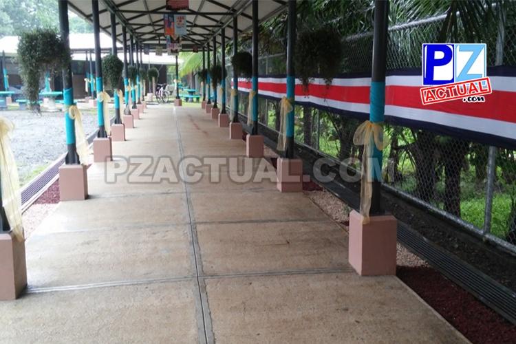 170 jóvenes tienen mejor infraestructura en el Liceo Rural Cerros en Quepos.