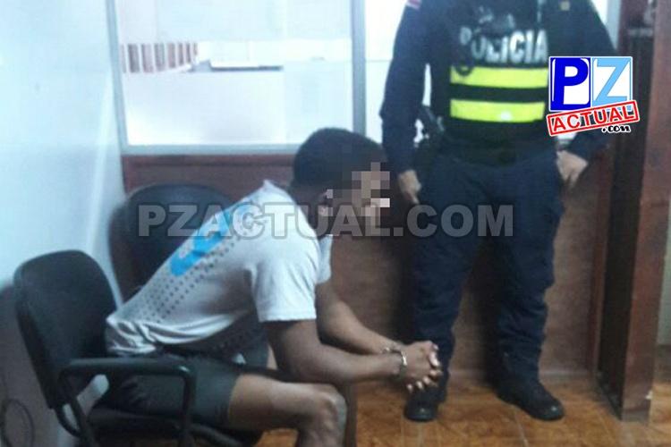 Fuerza Pública de Quepos detuvo a foráneo sospechoso de supuestos abusos sexuales.