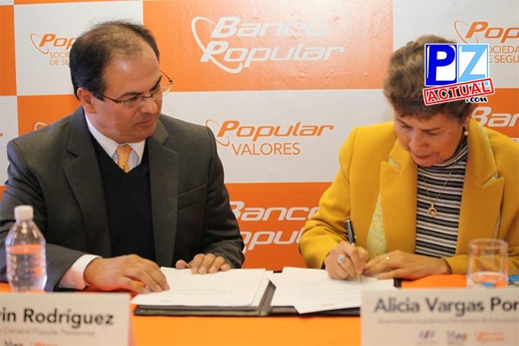Banco Popular y MEP impulsan gestión ambiental en centros educativos.