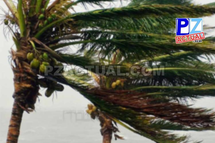 Persisten vientos alisios con ráfagas fuertes sobre el país.