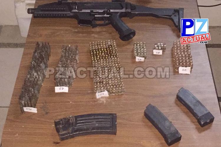 Fuerza Pública decomisó en Jacó tres armas de fuego no permitidas.