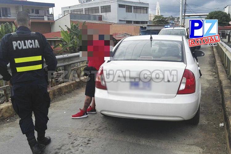 Detienen a sospechoso por el delito de hurto agravado en San Isidro de El General.