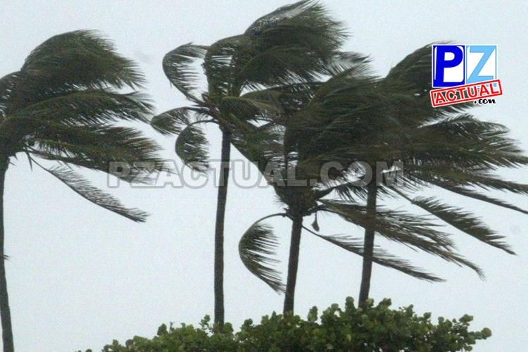 Vientos fuertes persisten este día en el país.